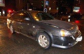 В столице авто Нацгвардии попало в ДТП
