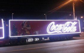 """По Львову разъезжает легендарный грузовик из рекламы. Фото сообщества """"Варта-1"""""""