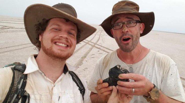 В Австралии обнаружили метеорит который древнее Земли