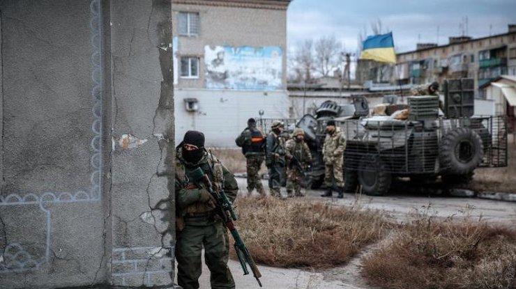 НаЛуганщине в итоге обстрела ранен боец АТО— «Перемирие» продолжается