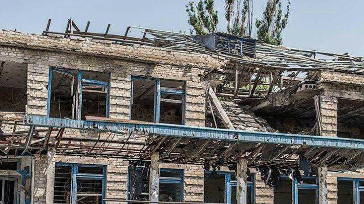 Германские корреспонденты показали масштабы разрушений вШирокино