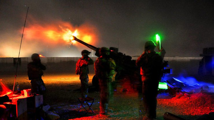Боевики обстреливают Водяное из152-мм артиллерии