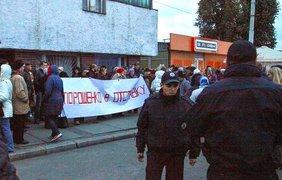 В Киеве и Запорожье протестуют против невыплаты зарплат