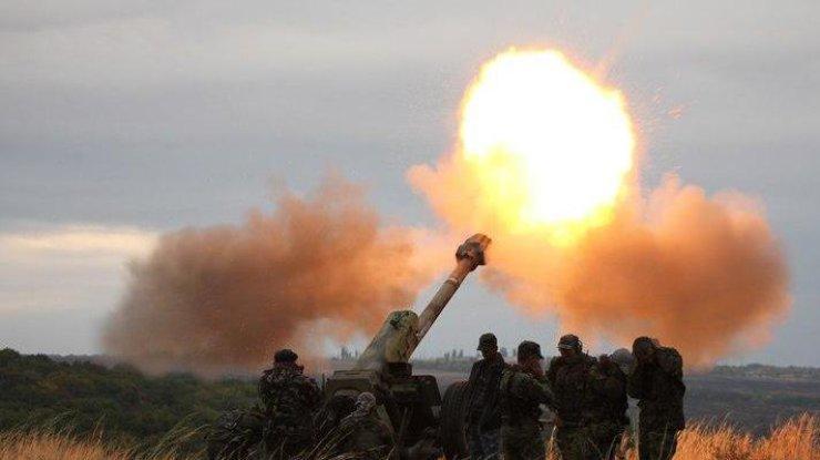 Боевики гатят изминометов поСтанице Луганской