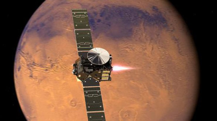 Модули миссии «ЭкзоМарс-2016» удачно разделились наподлете кМарсу
