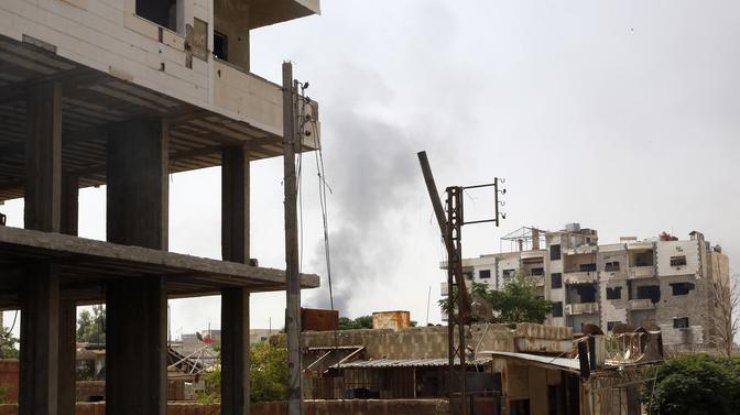 ВКС Российской Федерации нанесли очередной авиаудар вСирии, 11 погибших