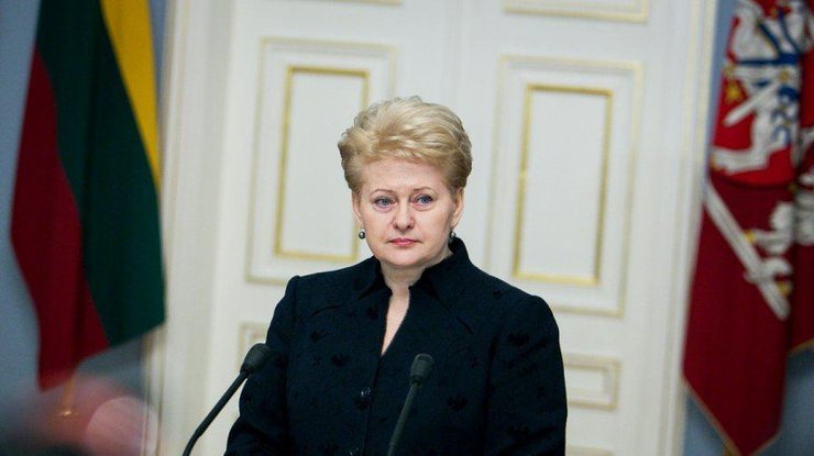 Президент Литвы обвинила РФ ввоенной агрессии