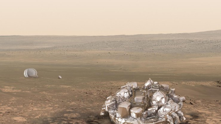 Модуль «ЭкзоМарса» Schiaparelli приземлился наМарс