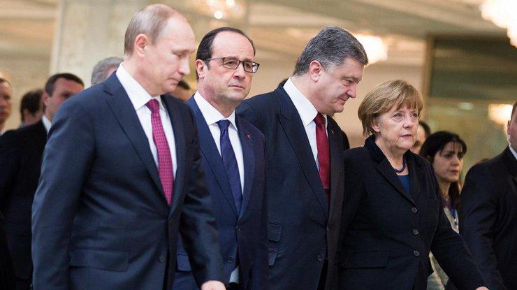 ВБерлине начались переговоры в«нормандском формате»