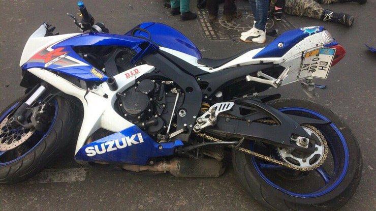 ДТП вОдессе: шофёр авто насмерть сбил мотоциклиста