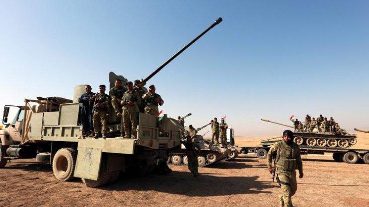 Жители Америки понесли первую боевую потерю врайоне иракского Мосула