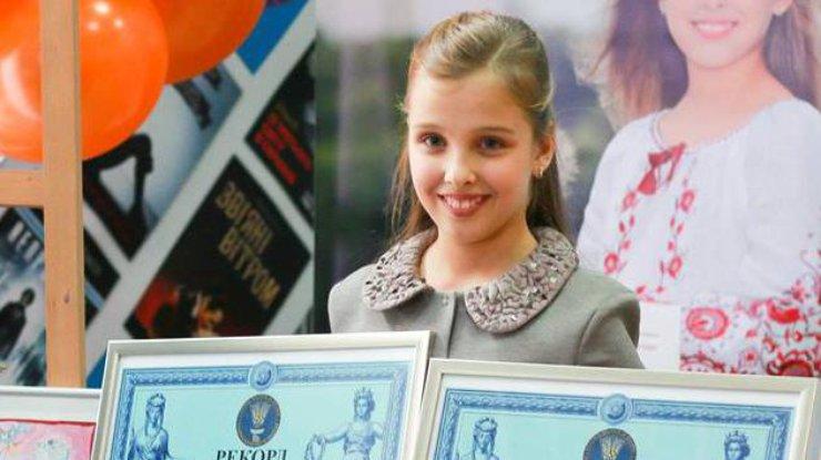 София Шлинчак признана самой молодой писательницей ииллюстратором государства Украины