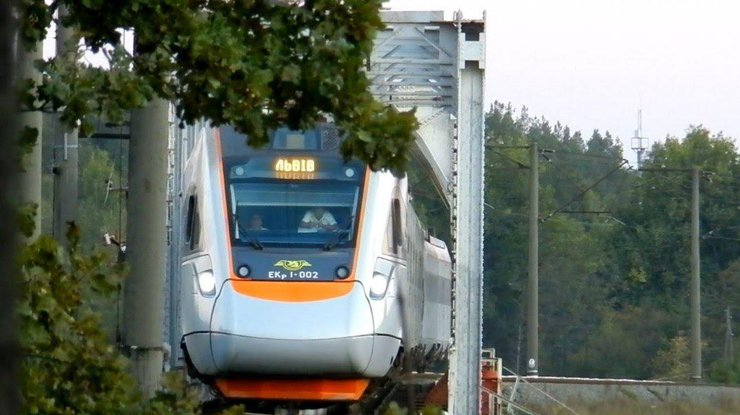 Поезд насмерть сбил женщину воЛьвовской области