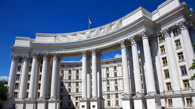 МИД Украины вызвал представителя Сирии для объяснений опризнании Крыма русским