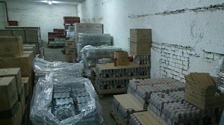 ВДнепропетровской области изъяли фальсифицированную водку насумму около 30 млн грн