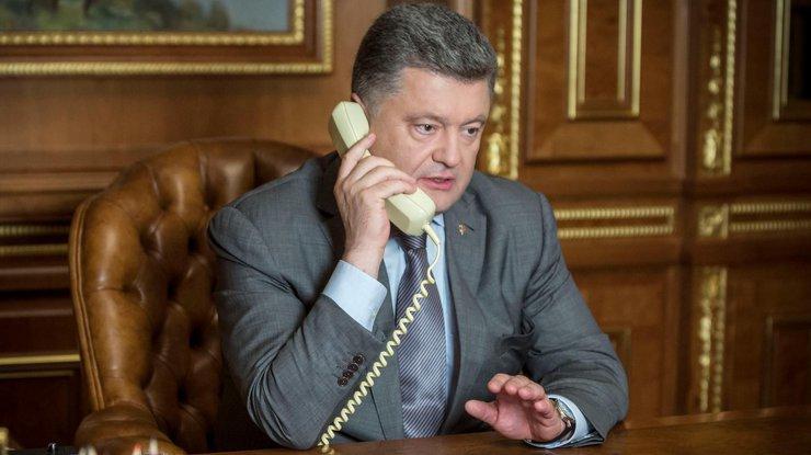 Порошенко иБайден обсудили Донбасс исанкции против РФ
