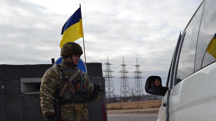 Марьинка: боевики ударили попозициям украинских таможенников