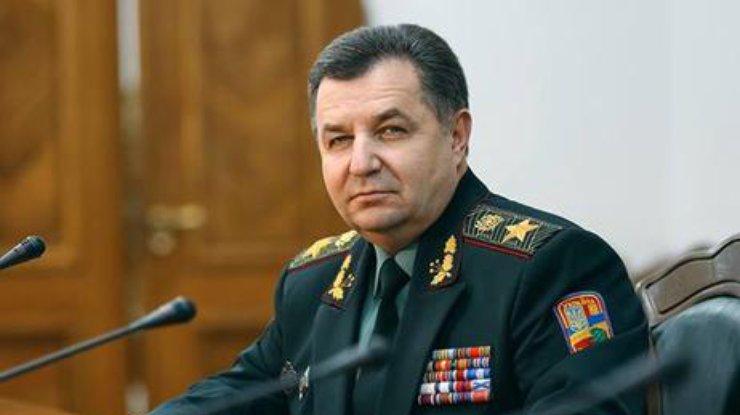 Министр Полторак имеет только одну квартиру иобходится без авто