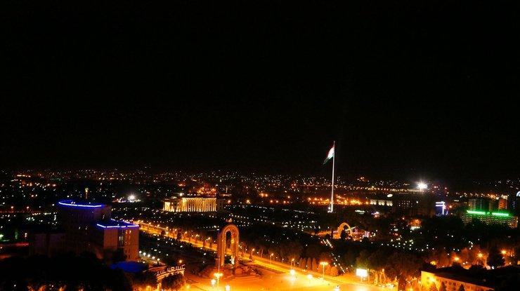 Практически весь Таджикистан остался без электрической энергии
