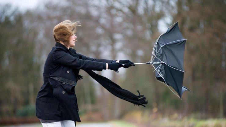 ГосЧС предупреждает осильном ветре повсей Украине