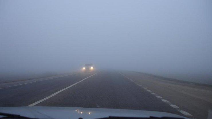 Милиция предупреждает водителей огустом тумане на трассах государства Украины