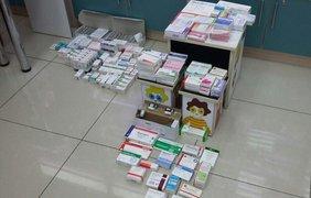 Стоимость конфискованных лекарств составляет более 2 млн грн