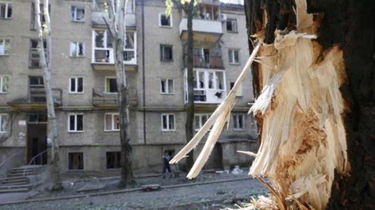Взрыв вМакеевке: НВФ обвиняют «украинскую ДРГ» в«теракте»