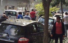 Как минимум один человек был серьезно ранен в результате взрыва