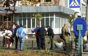 Под стенами МВД митингующие требуют отставки Авакова