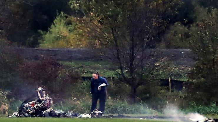 Рухнувший вамериканском штате Миннесота вертолет превратился в«обугленные обломки»