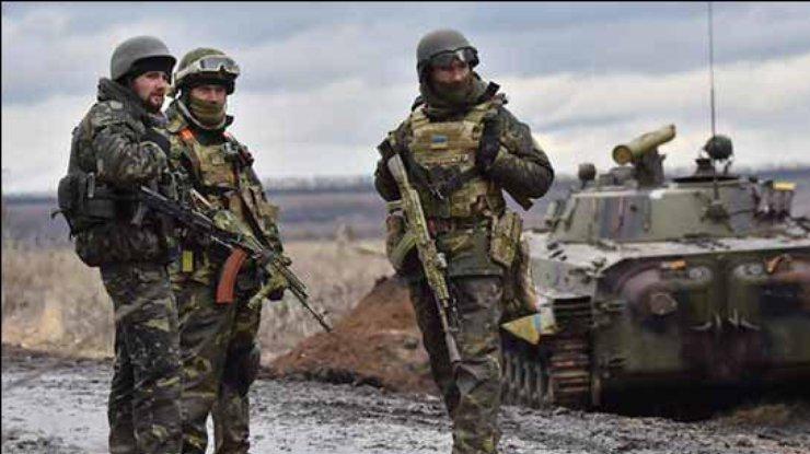 Взоне АТО умер украинский солдат, подорвавшийся нарастяжке