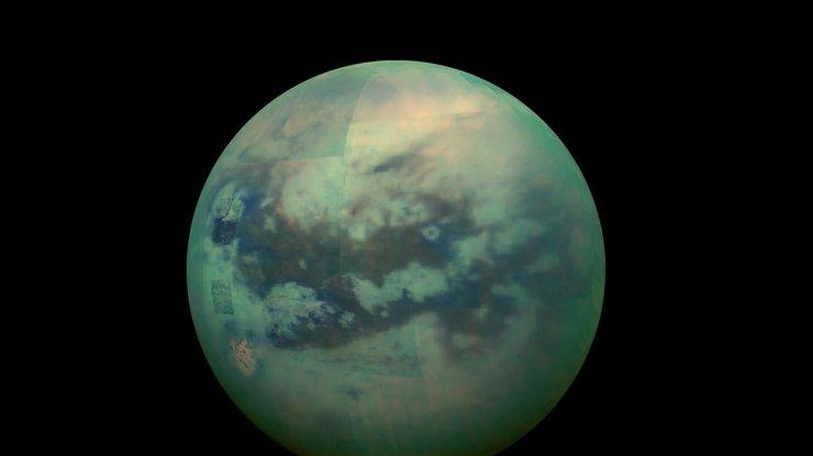 ВNASA показали необыкновенные облака наТитане