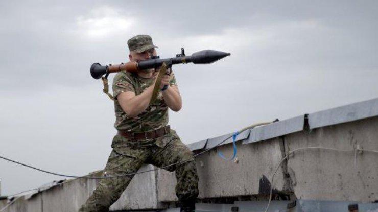 Стало известно оновых потерях сил АТО— Бои наДонбассе