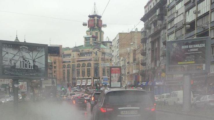 Центр столицы Украины тонет вкипятке