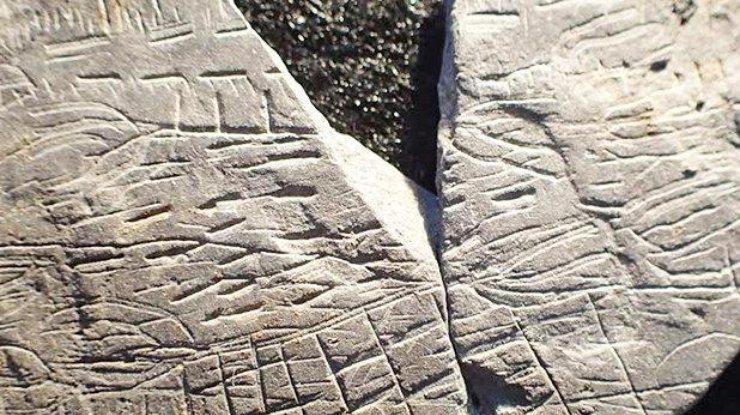 Ученые отыскали самую старую вмире карту изкамня