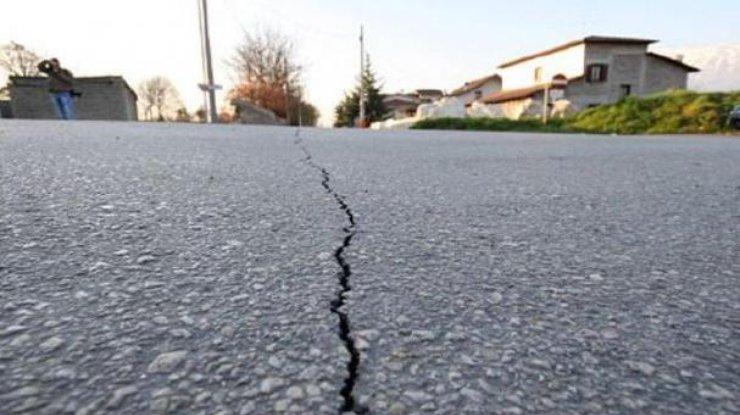 ВЯпонии около острова Хонсю случилось мощное землетрясение