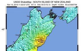 Землетрясение в Новой Зеландии: разрушены дома, есть жертвы