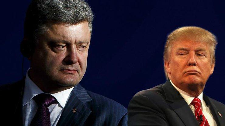 Трамп и Порошенко обсудили ситуацию на Донбассе и визит Порошенко в США