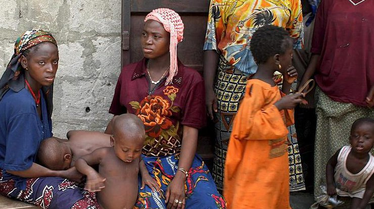 ВНигерии 75 тыс. детей умирают отголода