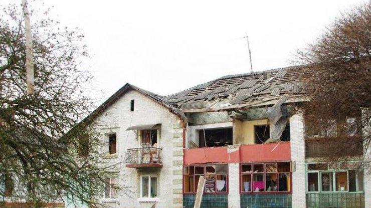 НаВолыни вжилом доме произошел взрыв, ранен человек