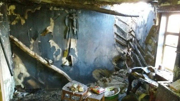 ВХарьковской области пожар убил 2 человек
