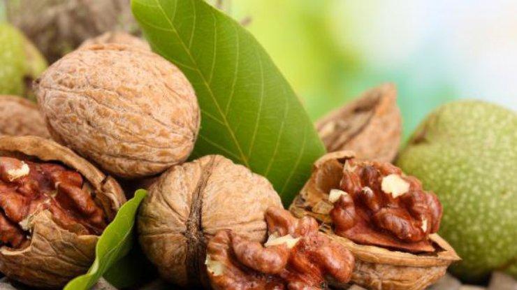 Грецкие орехи повышают настроение умужчин