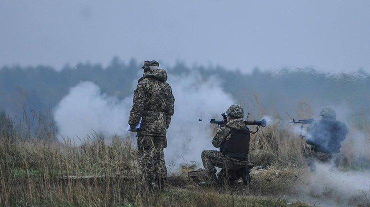 Сепаратисты совершили 17 обстрелов позиции ВСУ завчерашний день