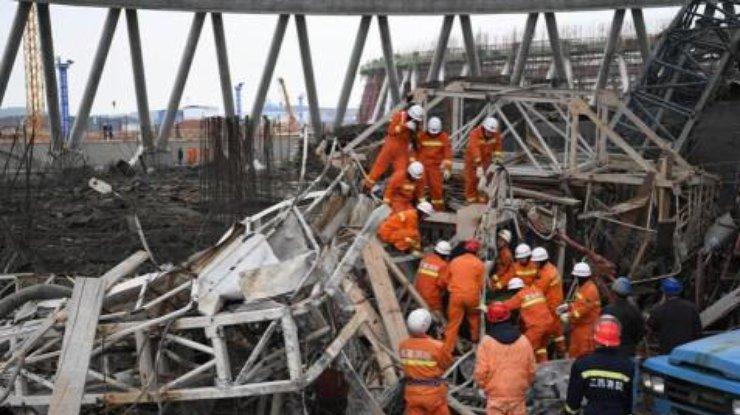 Как минимум 40 человек погибли при обрушении конструкций на станции повыробатыванию электричества в Китайская республика