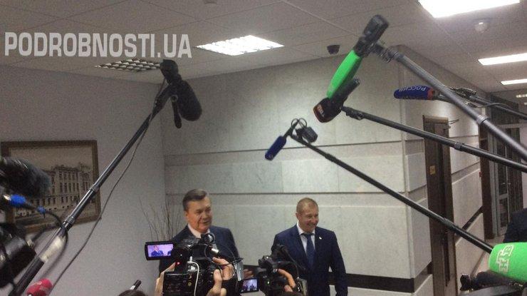 Киев боится правды оМайдане на совещании суда— Янукович