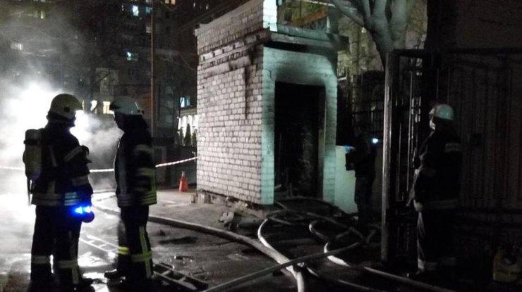 ВКиеве вспыхнул сверепый пожар наодной изТЭЦ