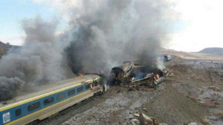 ВИране столкнулись два пассажирских поезда
