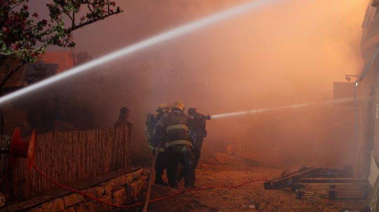 Поподозрению вподжогах лесов Хайфы арестовано 35 человек