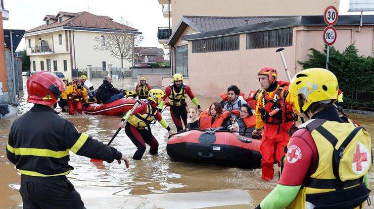 Проливные дожди вИталии привели к смерти двух человек