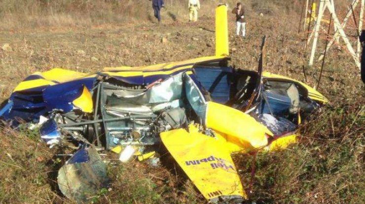 При крушении вертолета вКрыму погибли два человека
